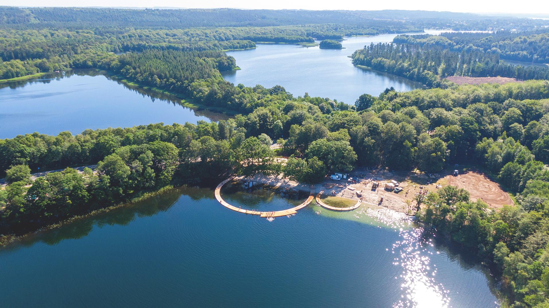 Droneskud af Ny Østre Søbad