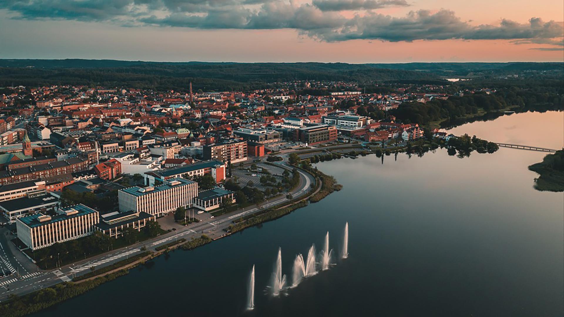 Aften i Silkeborg